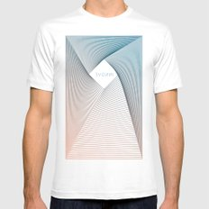 INNOVE Mens Fitted Tee White MEDIUM