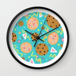 Kookie Teal Wall Clock