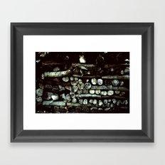 Wood Plane Framed Art Print