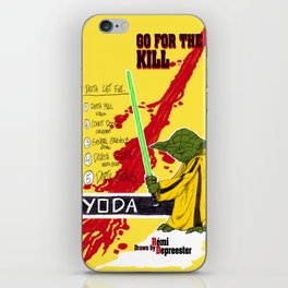 Kill Wars iPhone Skin