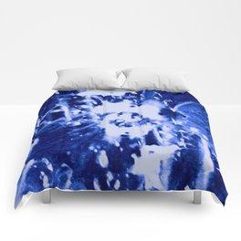 Broken Blue Comforters