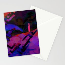 Abstract L7 Stationery Cards