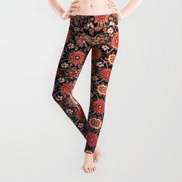 Songhor Kelleh Hamadan West Persian Rug Pring Leggings