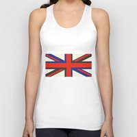 uk Tank Tops featuring UK  by Akehworks