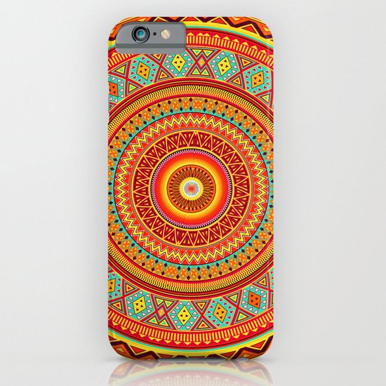 Mandala Aztec Pattern iPhone & iPod Case