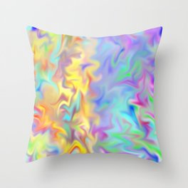 Love Differences Throw Pillow