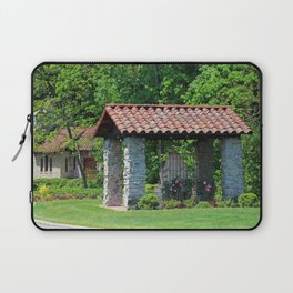 Lourdes University- A Walk Past St. Francis and His Animals Laptop Sleeve