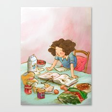 Foodie Canvas Print
