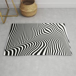Abstract Lines Rug
