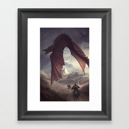 Dragon Chaser Framed Art Print