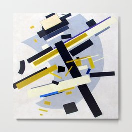 Kazimir Malevich Suprematism 58 Metal Print