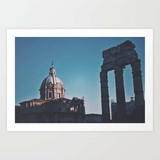 Old Italy Art Print