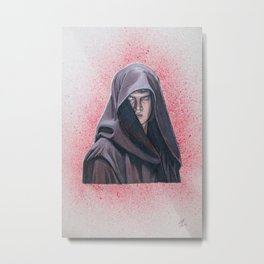 Darkside Anakin Skywalker (Darth Vader Episode III) Metal Print