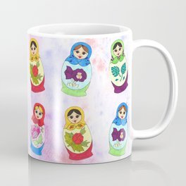Adorable Russian Dolls Coffee Mug