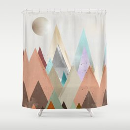 nova sky Shower Curtain