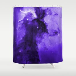 Eagle Nebula Ultraviolet Shower Curtain