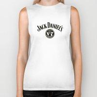 jack daniels Biker Tanks featuring JACK DANIELS by Bilqis