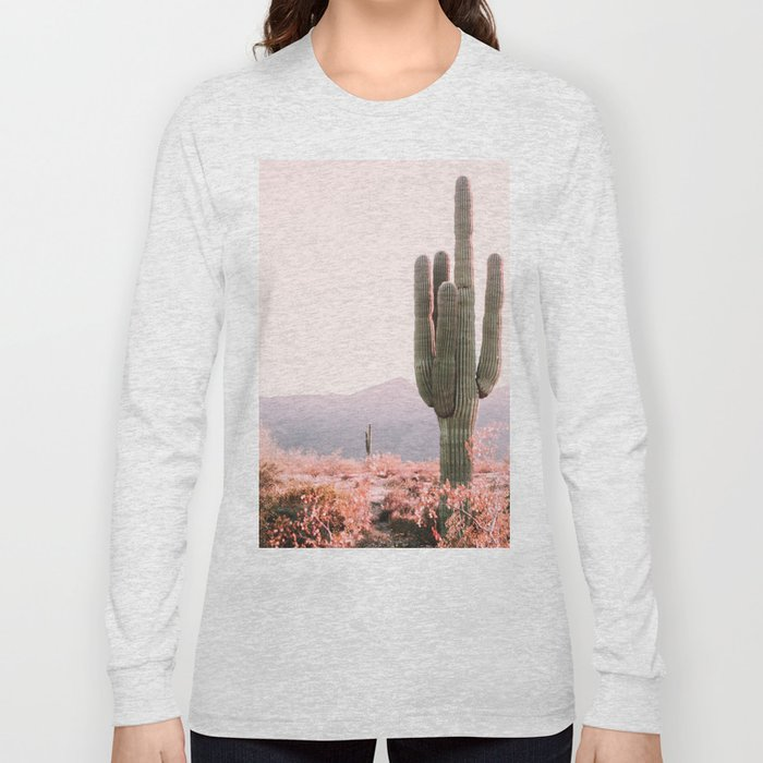 Vintage Cactus Long Sleeve T-shirt