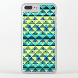 Christmas pattern III Clear iPhone Case