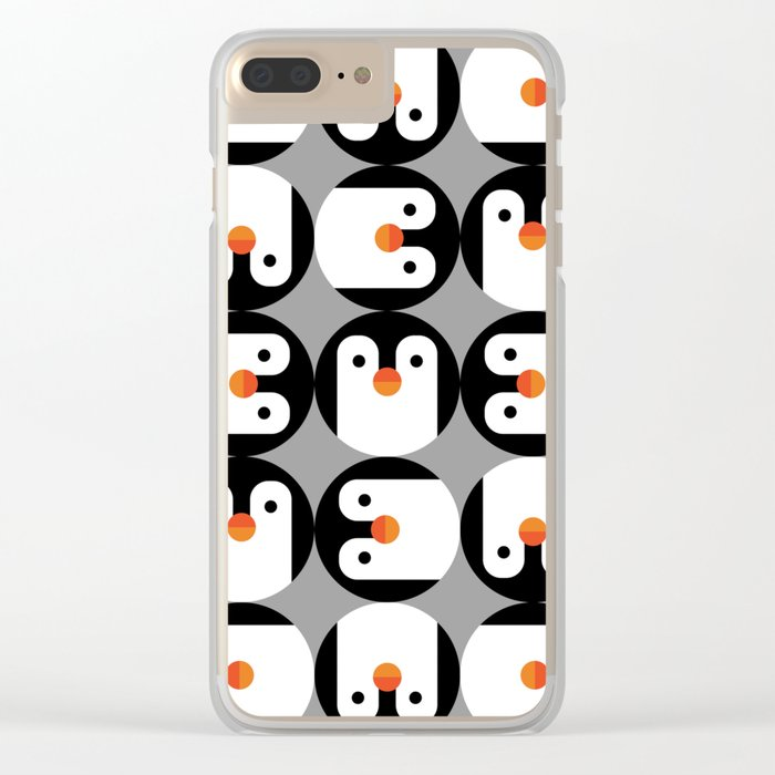 The Penguin Club Clear iPhone Case