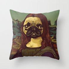 Pugalisa Throw Pillow