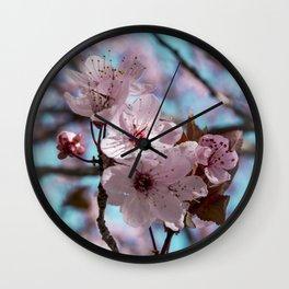 Sakura.Cherry Blossom Wall Clock