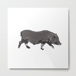 Fat Little Piggy Metal Print