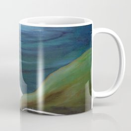 Cliff House - Hawaii landscape painting by Marguerite Blasingame Coffee Mug
