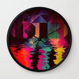 th'cyrrynt yyrr Wall Clock