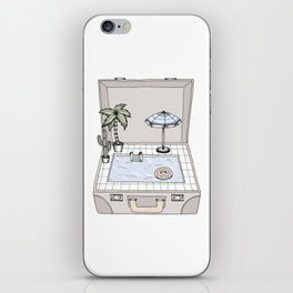 Pool To Go iPhone Skin