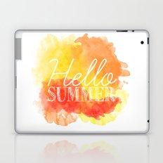 Hello Summer; Laptop & iPad Skin