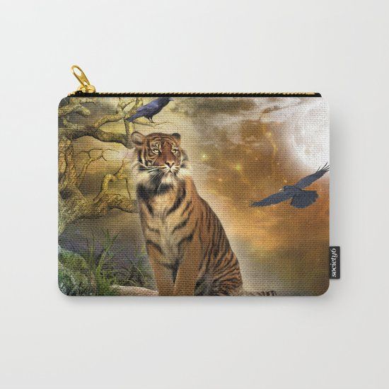 Wonderful tiger Carry-All Pouch