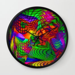 the alternative route Wall Clock