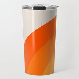 Sunrise Rainbow - Left Side Travel Mug