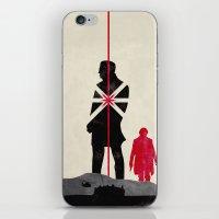 skyfall iPhone & iPod Skins featuring Skyfall by Geminianum