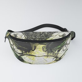 Venice -- A Fractal Dream in the City of Masks Fanny Pack