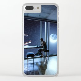 And then I sat quietly and watched them coming Clear iPhone Case