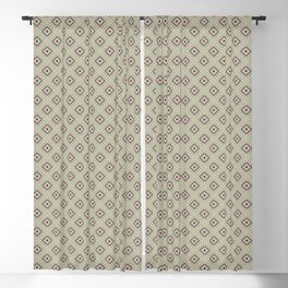 Quilted Avocado Green Winter Blackout Curtain