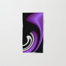 fractal geometry -117- Hand & Bath Towel