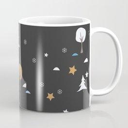 Golden Winter Coffee Mug