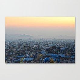 Sunrise in Udaipur Canvas Print