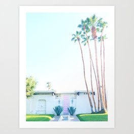 That Pink Door, Palm Springs Art Print