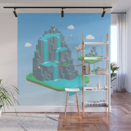 Crystal Mountain Wall Mural