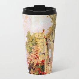 1920 Romantic Lenno Lake Como Travel Mug