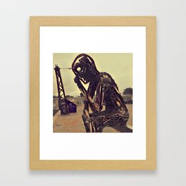 The Key to the Future Framed Art Print