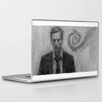 true detective Laptop & iPad Skins featuring true detective by Manu Cafferini
