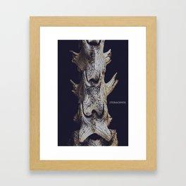Tenacious. Framed Art Print