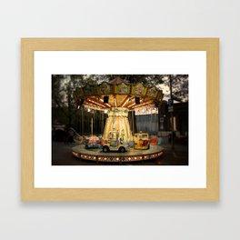 merry-go-round (with vignette) Framed Art Print