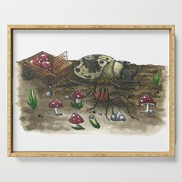 Little Worlds: The Harvest Serving Tray