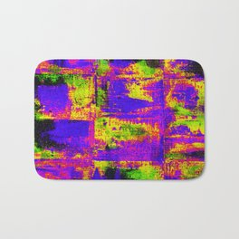 Abstract #2 Multicolor (Variation 6) Bath Mat
